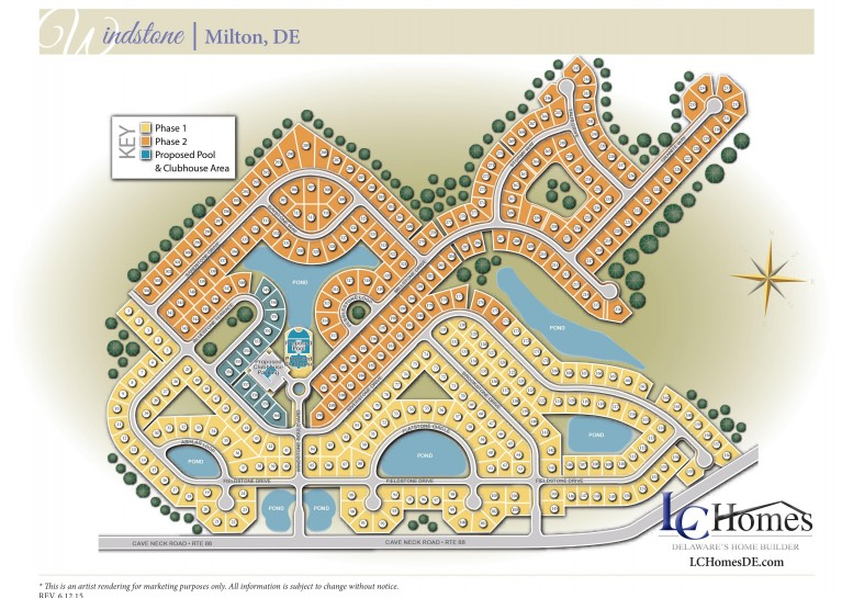 Community Map Windstone 29678 Riverstone Dr # 188 Milton, DE 19968